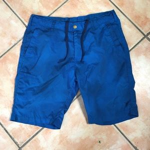 Old Navy Active Blue Striped Board Shorts